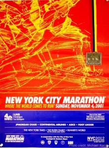 NYC Marathon 2001