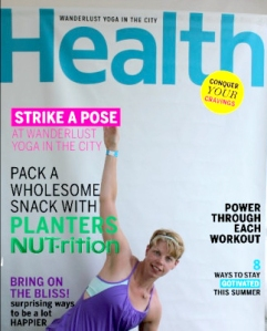 Constance Korol on Cover of Health Magazine