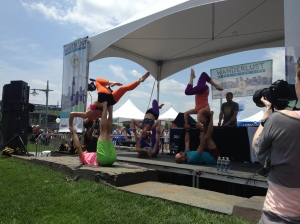 ..and more Acroyogis